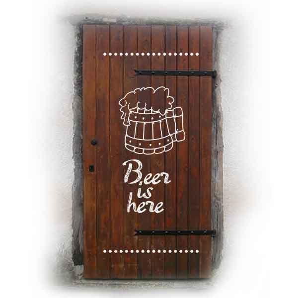 Koka durvju apdruka