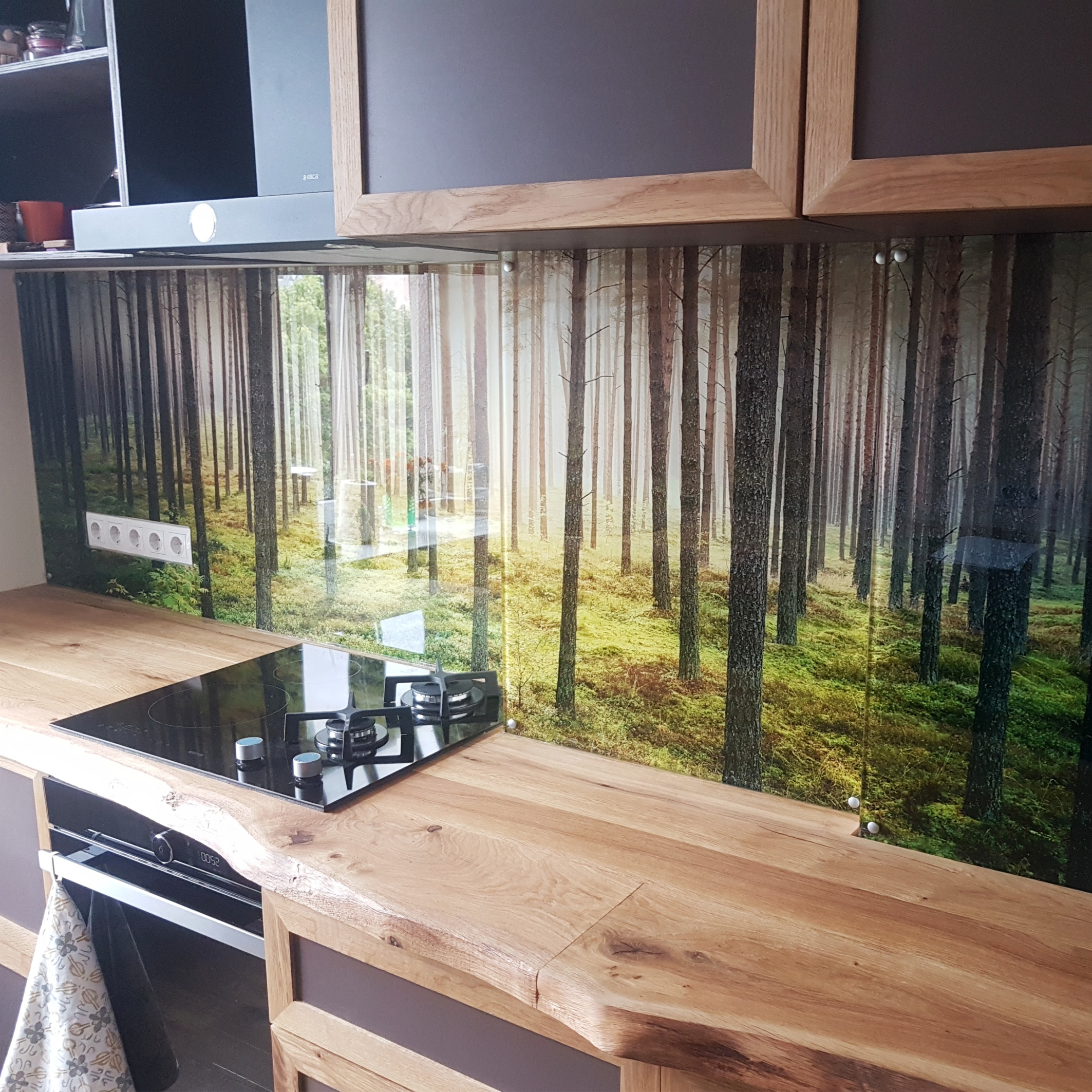 virtuves panelis
